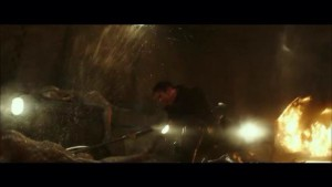 Sam Clafllin on fight mode in the new Mockingjay Part 2 Trailer